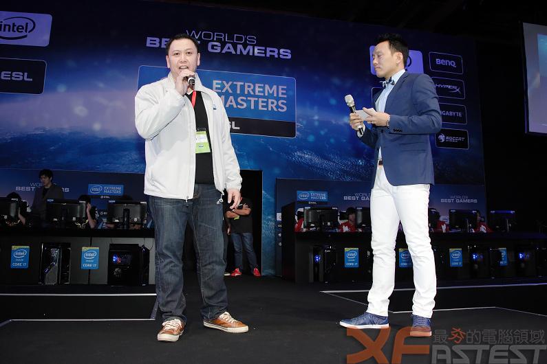 臺北國際電玩展Intel舉辦極限高手盃大賽 微軟則推出XBOX One 雪白限定版