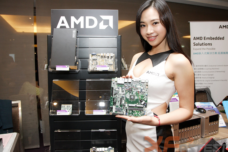 QNAP推出採用AMD嵌入式 G系列晶片的網路儲存設備