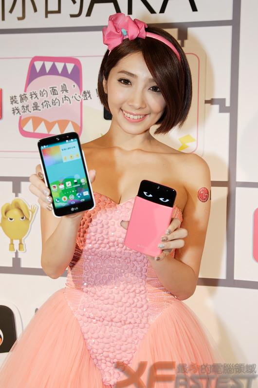 LG針對年輕族群推出深具個性化的LG AKA手機