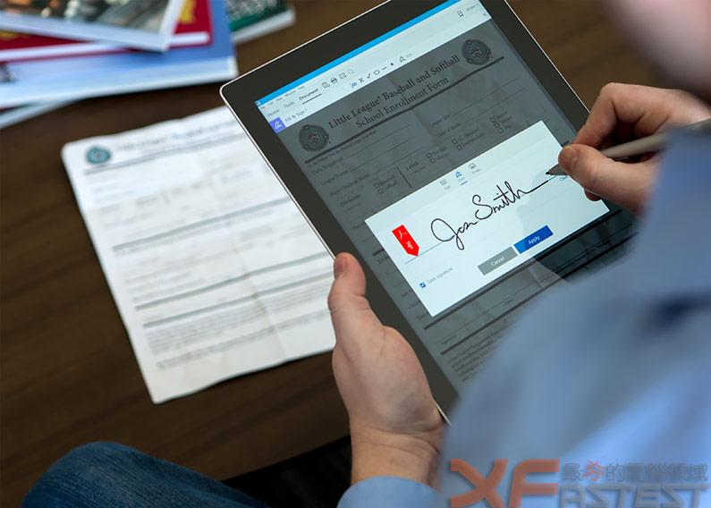 加入雲端分享、電子簽章的Adobe Acrobat Document Cloud