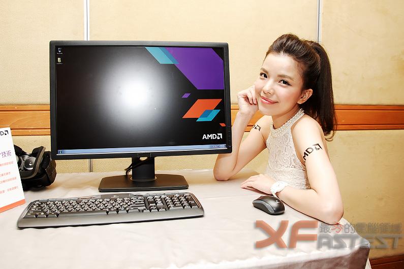 AMD與合作廠商展出 FreeSync顯示器及LiquidVR技術