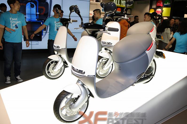 Gogoro體驗中心揭幕並宣布智慧雙輪今夏上市